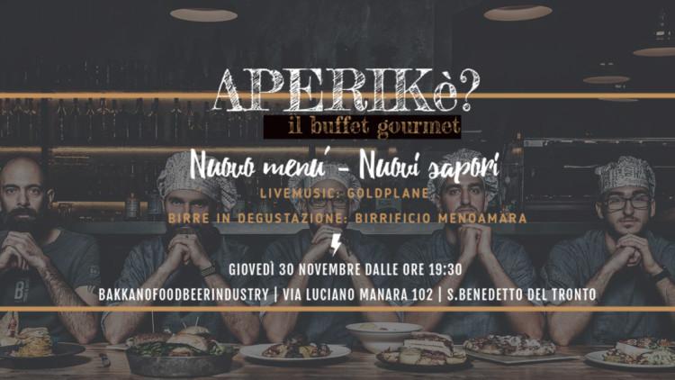 APERIKè | Il buffet gourmet – Nuovo Menù, Nuovi sapori
