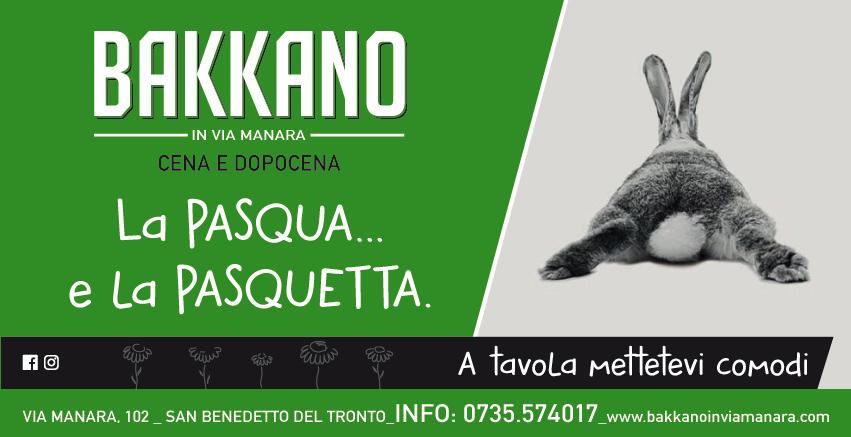 Pranzo Pasqua 2019_Bakkano San benedetto del Tronto